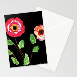 Dynamic Blossoms Stationery Cards