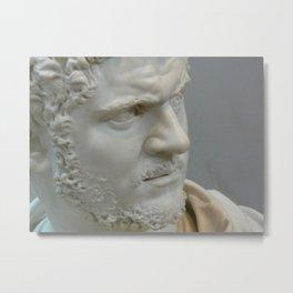 Bust of the Roman Emperor Caracalla Metal Print