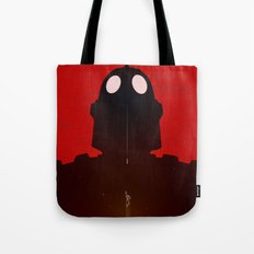 Iron Red Tote Bag