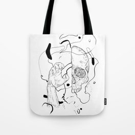 I'm pinching your head Tote Bag