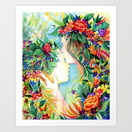 Nature/Nurture Art Print