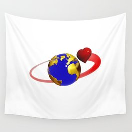 love is all around, #hatetolove Wall Tapestry