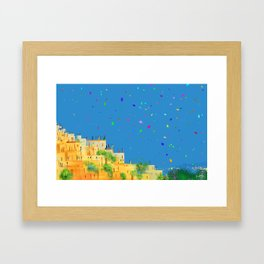 Kites of Dreams... Framed Art Print