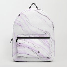 Light purple marble Backpack