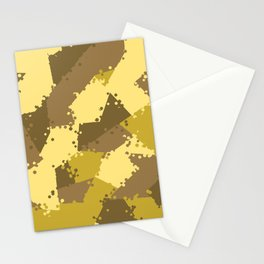 Camouflage desert 2 Stationery Cards