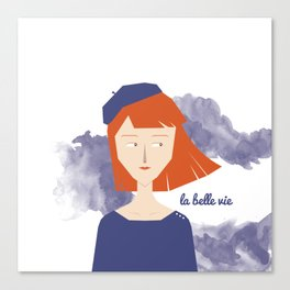 La Belle Vie Canvas Print