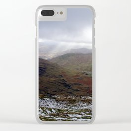 Mount Snowdon, Snowdonia, Wales Clear iPhone Case