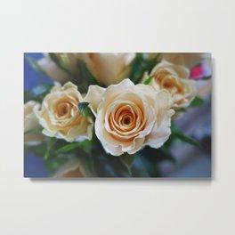 Rose Pattern #2 Metal Print