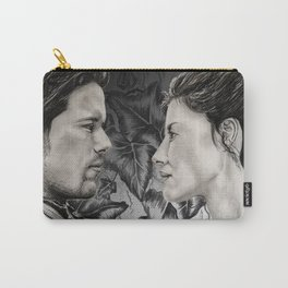 Jamie and Claire Carry-All Pouch