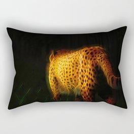 Cheetah Fractal Animal Fractal cheetah Rectangular Pillow