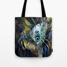 Abalone Butterfly Tote Bag