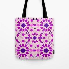 Purple Arabesque Tote Bag