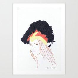 Julia Stone Art Print