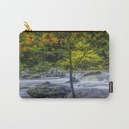 Rocky Broad River in October Carry-All Pouch