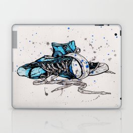 Blue Chucks Laptop & iPad Skin