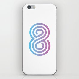 Cotton Candy 8 iPhone Skin