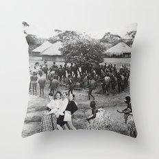 Jambo's Mambo Throw Pillow