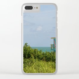 Lifegard Station At South Beach Miami Clear iPhone Case