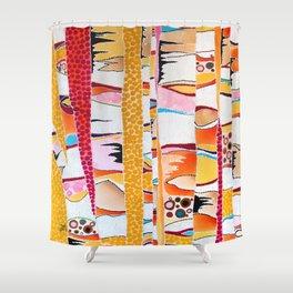 Marmalade Morning Shower Curtain