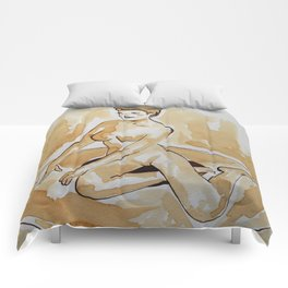 Coffee Pin Up Comforters