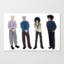 Siouxsie and the Banshees Canvas Print