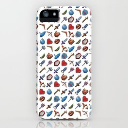 A Hero's Arsenal (White) iPhone Case