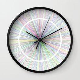 #14 Rays Wall Clock