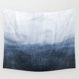 The Storm - Ocean Painting Wall Tapestry
