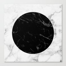 Marble Dot Collage Canvas Print