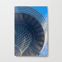 Centrepoint From Below Metal Print