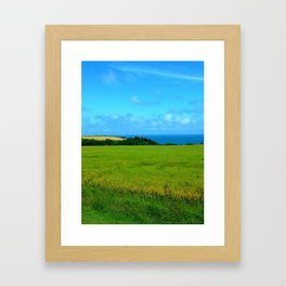 french wheat Framed Art Print