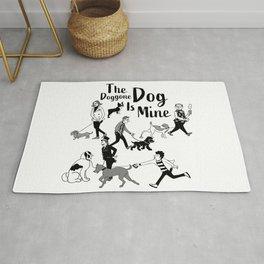 The Doggone Dog Is Mine_Boys Rug