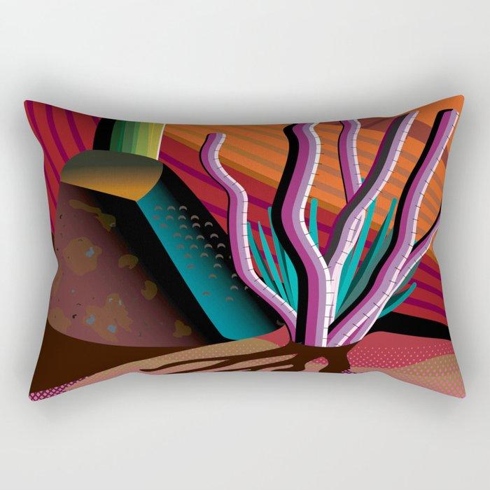 Gila River Indian Community Rectangular Pillow