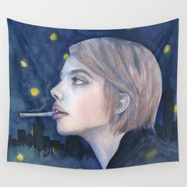 City Girl Wall Tapestry