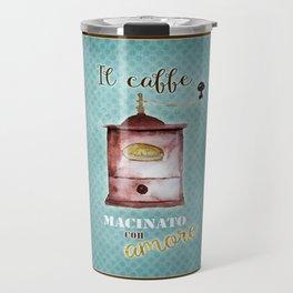 Coffee Ground with Love Travel Mug