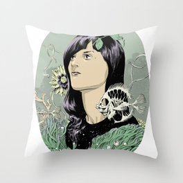 A Hole in the Ocean Throw Pillow