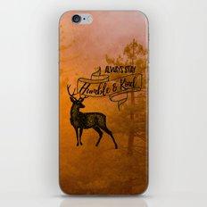 Humble & Kind iPhone & iPod Skin