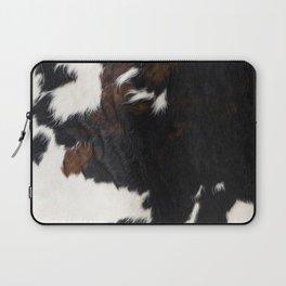 Cowhide Farmhouse Decor Laptop Sleeve