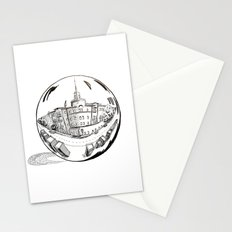 City in a glass ball Stationery Cards