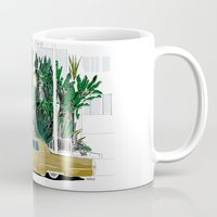 drive Mugs featuring Drive by Suzie-Q