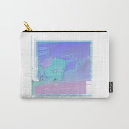 Sad Not at the Beach Carry-All Pouch
