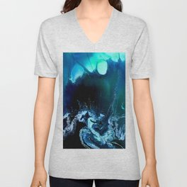 Deep blue sea Unisex V-Neck