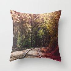 Great Adventures Ahead Throw Pillow