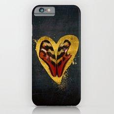 Butterfly wings in my heart iPhone 6s Slim Case