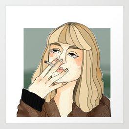 Alyssa || TEOTFW Art Print