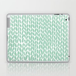 Hand Knit Zoom Mint Laptop & iPad Skin