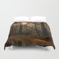 vancouver Duvet Covers featuring Vancouver Woods Reflected by Sierra Whiskey Bravo