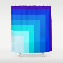Square by square Shower Curtain