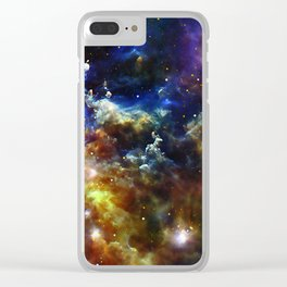 Cradle of Stars Clear iPhone Case