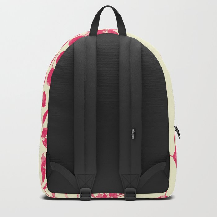 Watercolor floral garden  II Backpack